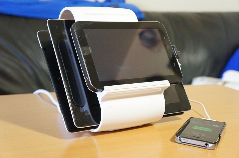 Xuma 4-Port USB Desktop Charger