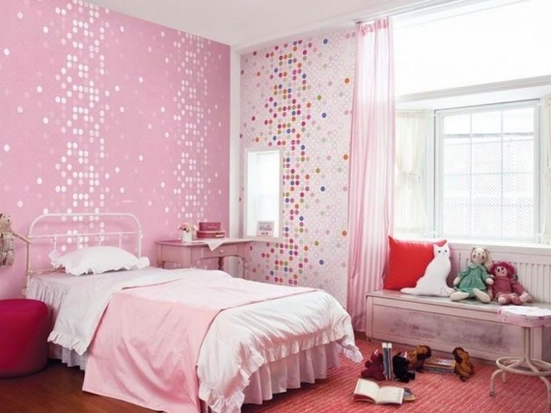 pink wallpaper for walls