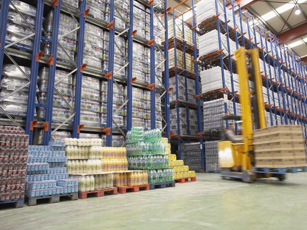 aluminium trolley warehouse