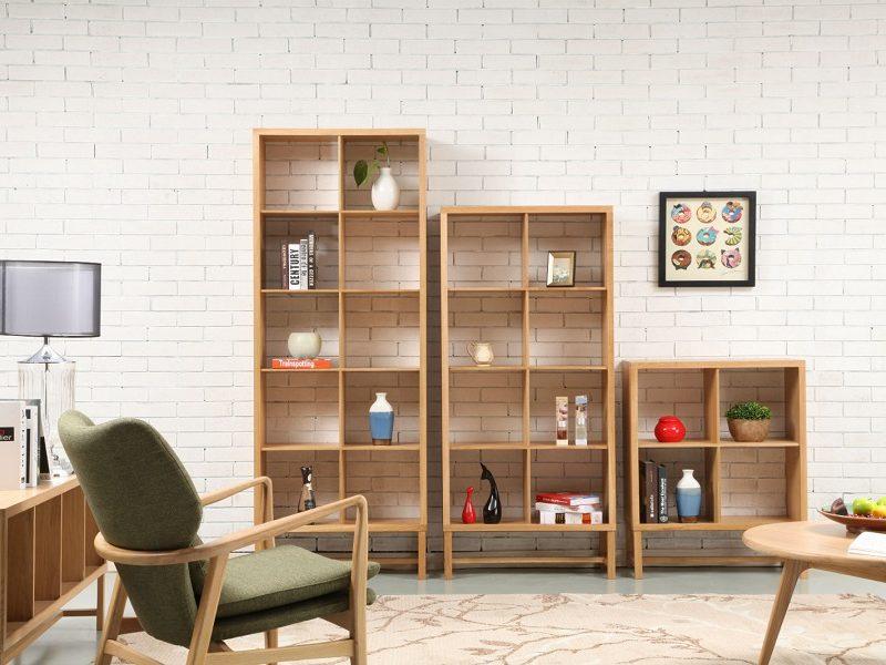 Scandinavian Teak Bookcases