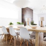 modern white dining chairs 1