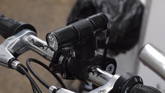 mounted bike light