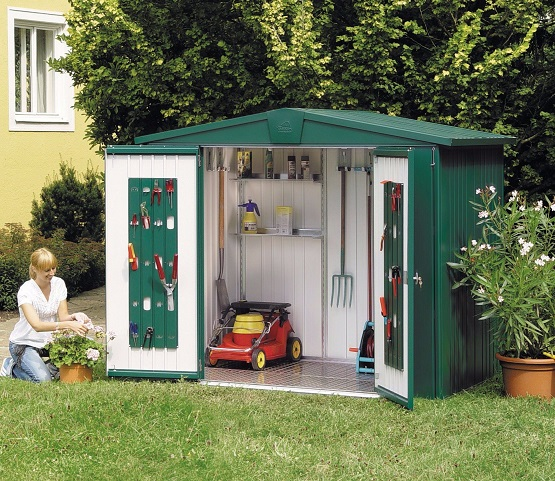 colorbond garden shed