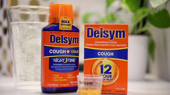 supressants for a dry cough