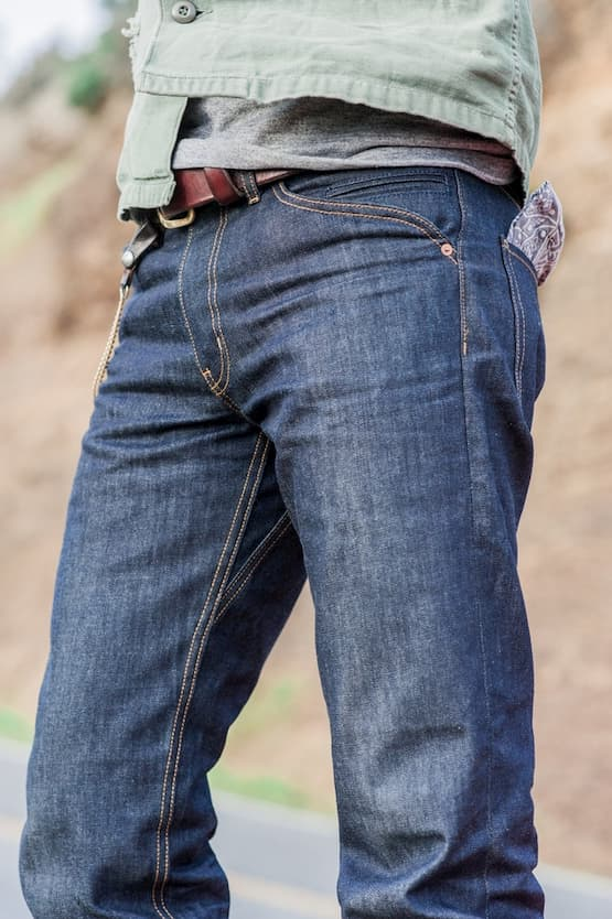 man with jeans