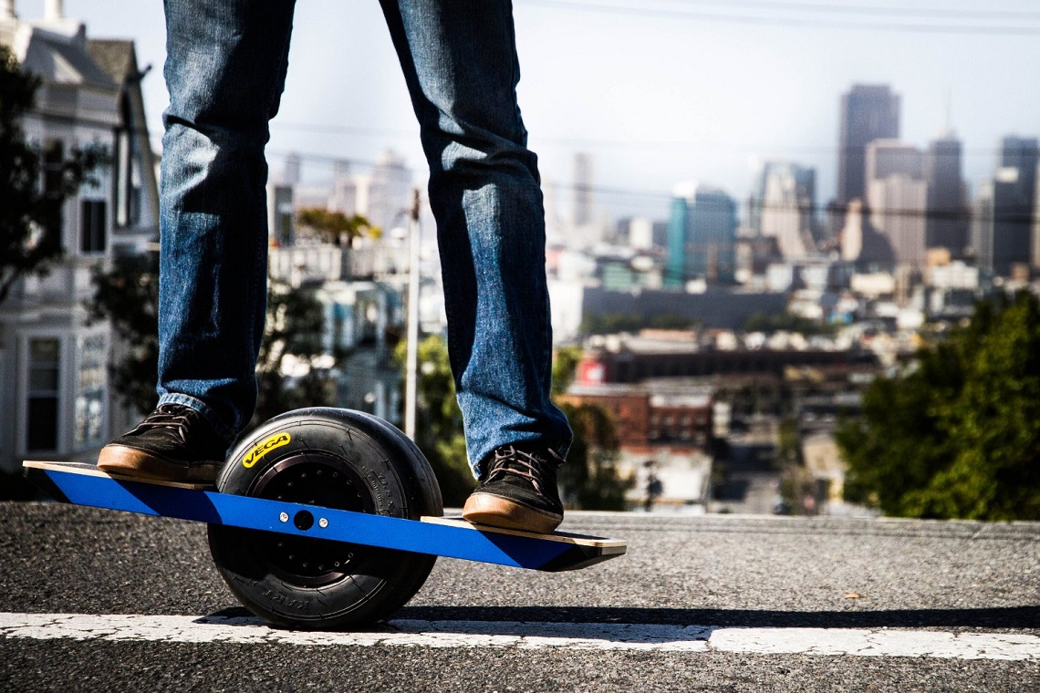 The one wheel electric skateboard