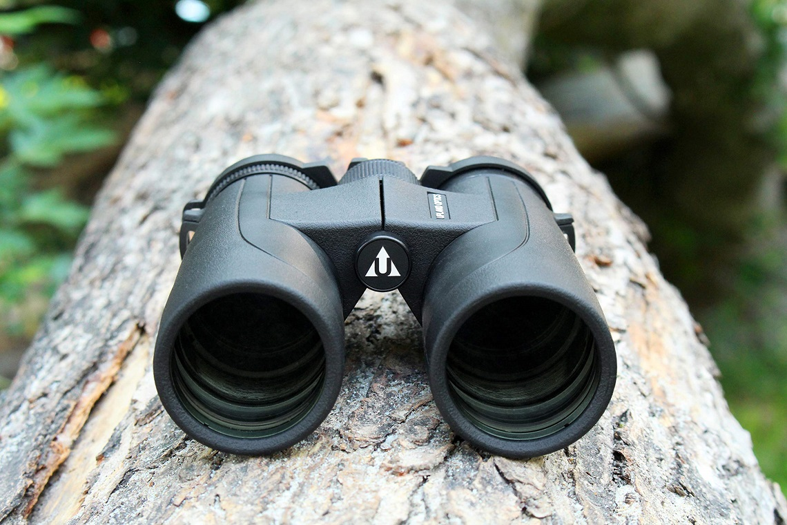 A pair of handy and compact binoculars