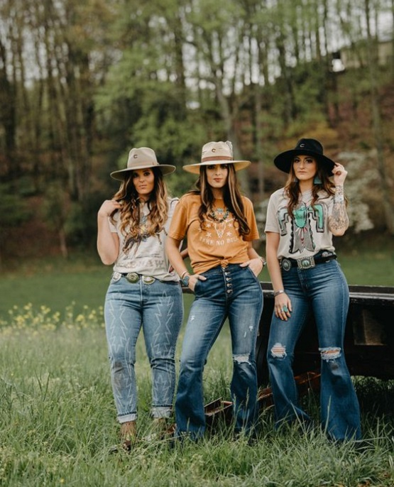 country and western clothing