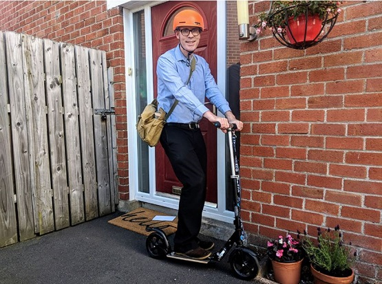 Prevent Chronic Health Conditions with scooter