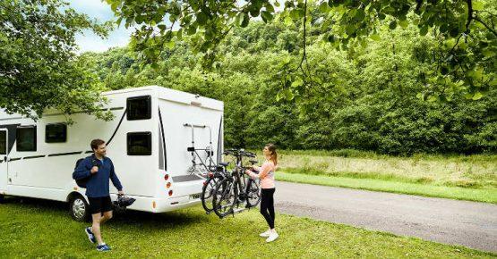 motorhome caravan bike rack