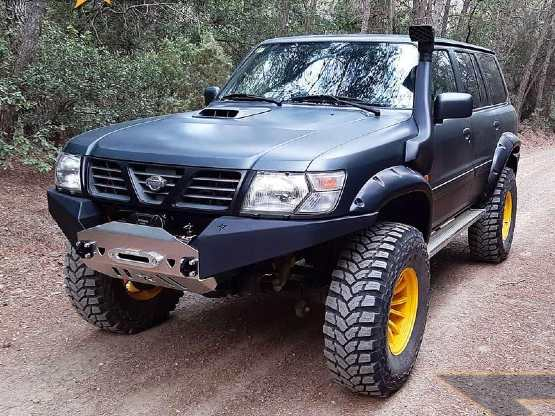 nissan patrol 4x4 accessories