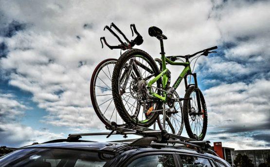 roof mounted bike racks
