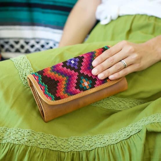Textile wallet