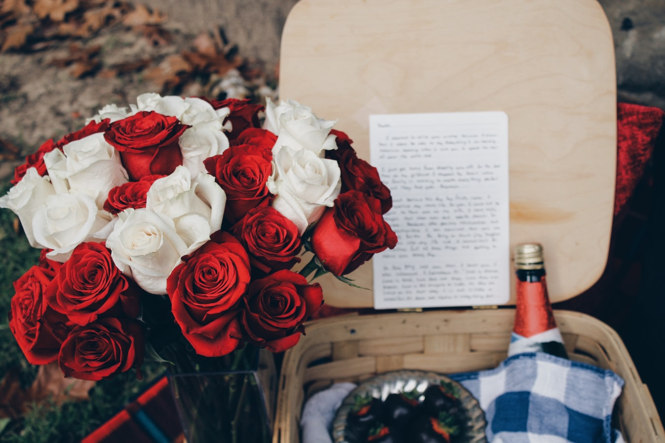 valentine gift item - flower