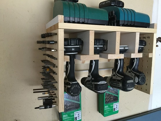 storage for power tools