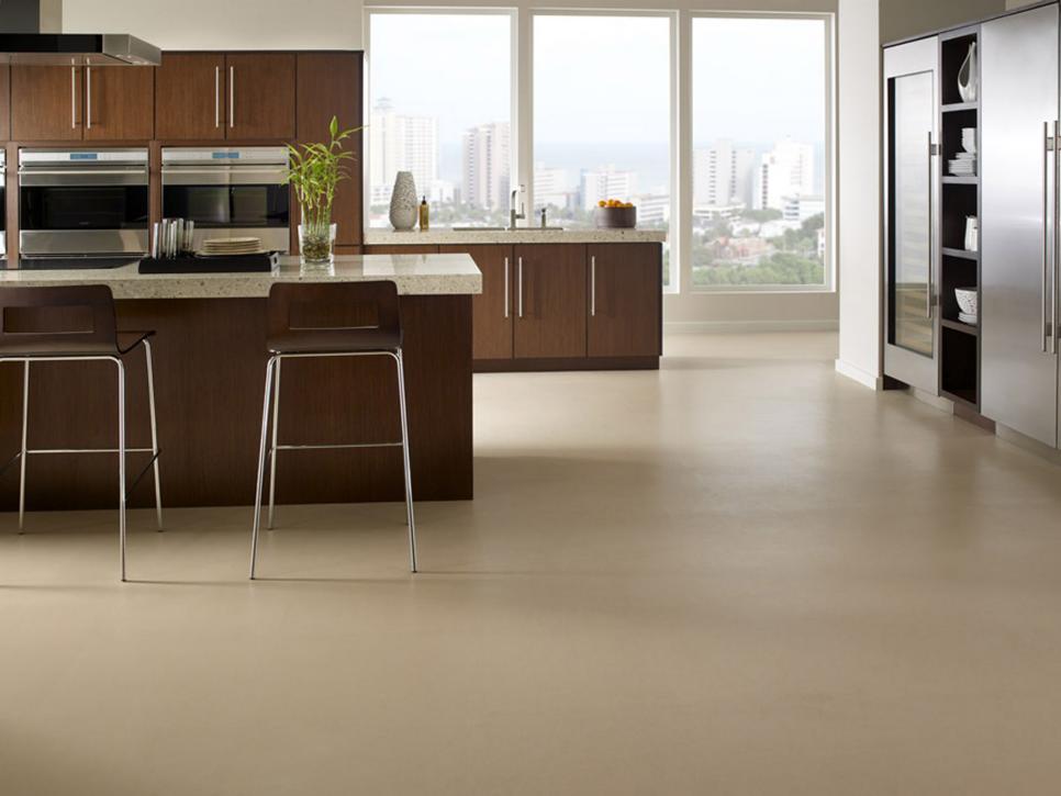 affordable kitchen floor