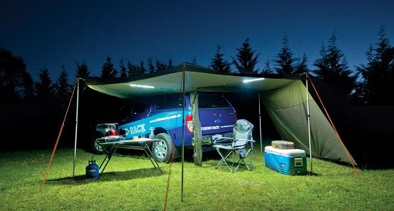 white camping led lights bar
