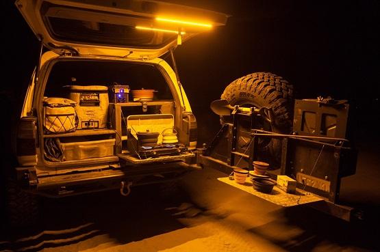 orange camping led lights