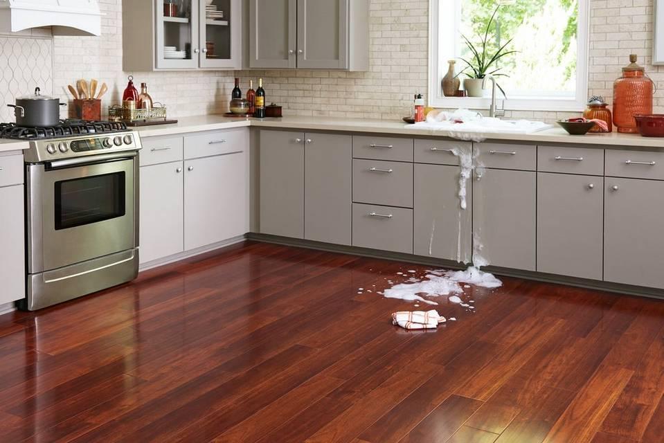 water resistant kitchen flooring